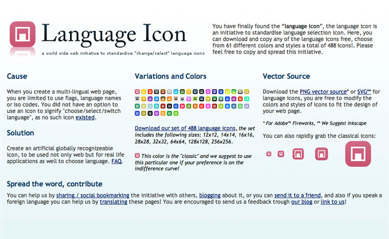 Language Icon